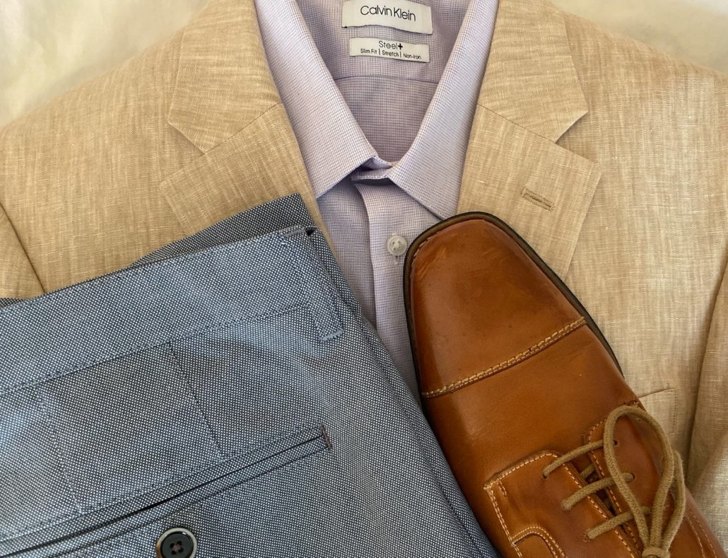 summer sport coat outfit
