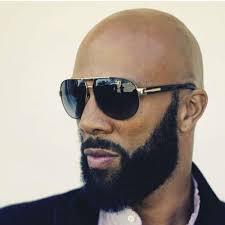 bald man shades