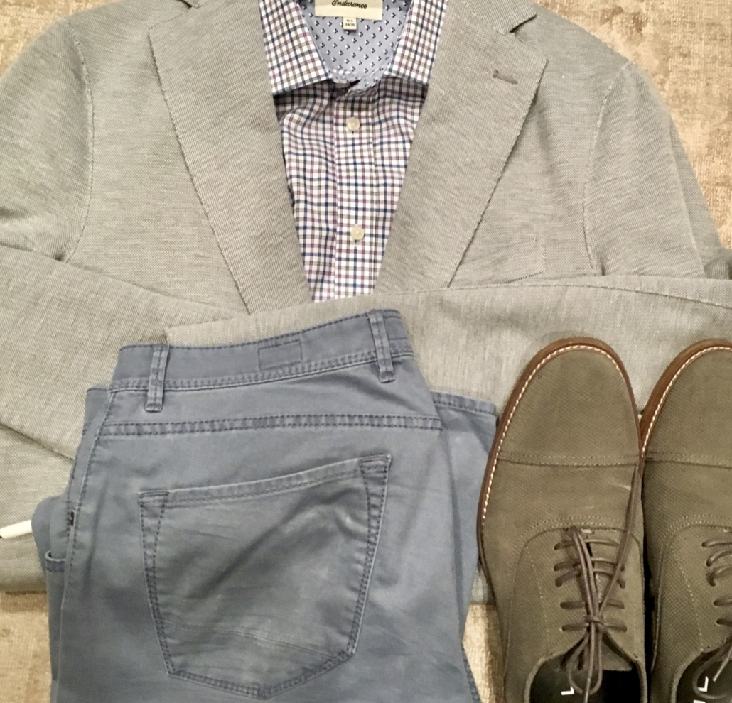 Mens casual sport coat outfit